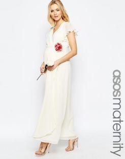 Asos maternity wedding dress